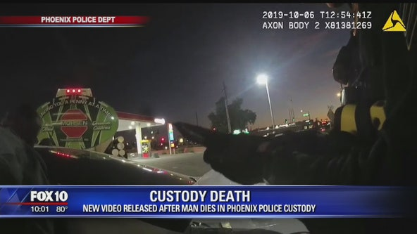 New video released after man dies in Phoenix Police Custody