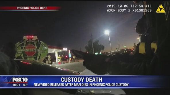 New video released after man dies in Phoenix Police Custody