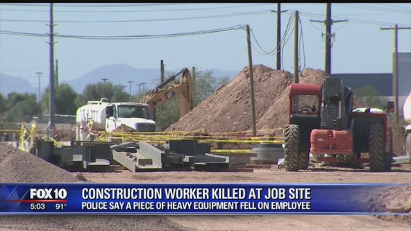 Construction worker dies following accident on Gilbert job site