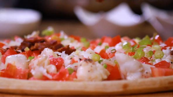 Taste of Thursday Night Football: Dr. BBQ's lobster pizza
