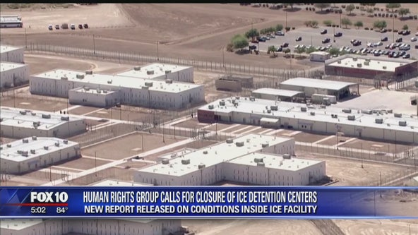Puente Human Rights Movement says there are inhumane conditions at ICE detention facility
