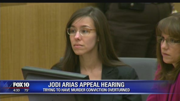 Court to hear appeal of Jodi Arias' murder conviction