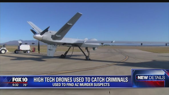 High tech drones helped catch Arizona murder suspects