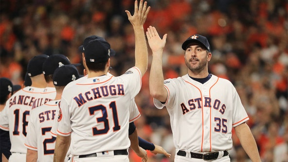 Astros hope to use secret weapon Verlander to keep Washington from clinching Game 2 win