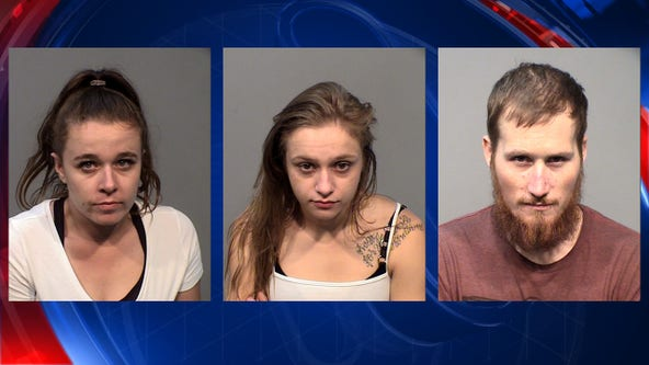 Prescott Valley police arrest 3 in retail thefts
