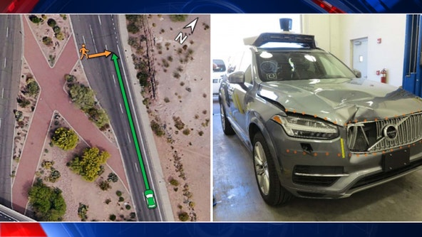 NTSB eyes fatal crash involving self-driving car