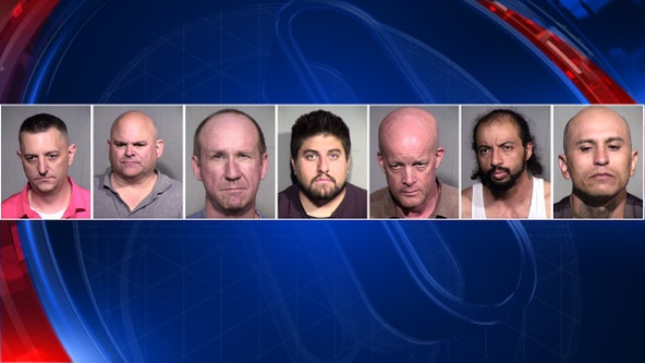 7 more Arizona men accused of seeking sex with minors