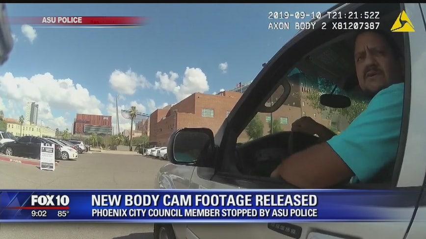Video shows tense traffic stop with Phoenix councilman Carlos Garcia