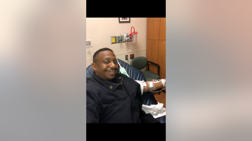 Georgia firefighter survives deadly blood clot scare