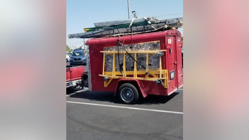 Valley business owner asking for public's help locating stolen trailer, tools