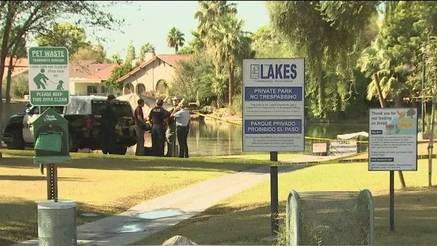 Police: Woman's body found in small lake in Tempe identified