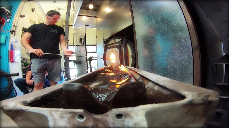 Sedona Area School Teaching People To Create Their Own Glasswork