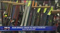 Valley ski shops busy as snow expected for northern Arizona