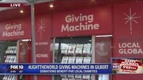#LightTheWorld Giving Machines now open in downtown Gilbert