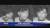 Silent Witness Saturday: Phoenix Police looking for home burglary suspect