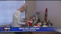 Valley women donate dolls to foster kids