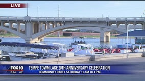 Tempe Town Lake celebrates 20th anniversary
