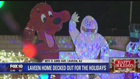 Laveen home decked out for the holidays