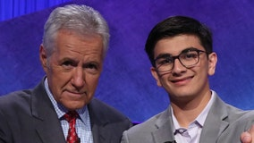 Teen 'Jeopardy!' champion donates $10K to cancer research in Alex Trebek's honor