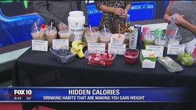 Hidden calories in drinks