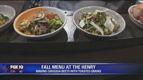 Fall menu at The Henry