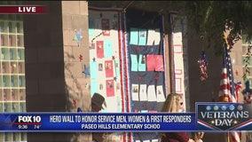 Veterans celebration at Paseo Hills School