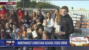 Cory's Corner: Northwest Christian School food drive