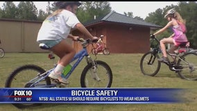 NTSB: All states should require bicyclists to wear helmets
