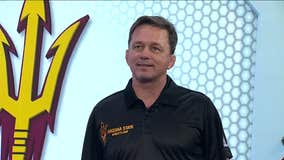 ASU Wrestling head coach talks about the upcoming match against Penn State