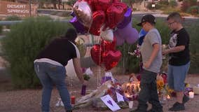 Dozens gather to remember 12-year-old killed after being hit by a bus