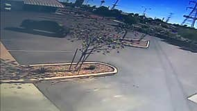 Search for suspect who drilled holes in delivery van gas tanks in Mesa