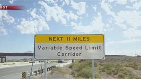 ADOT dust detection project: Crews install variable speed limit signs, sensors