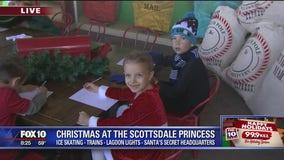 Cory's Corner: Christmas at the Scottsdale Princess