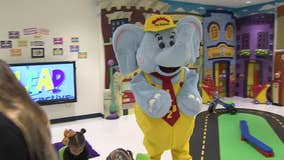 Valley pre-school teaching the importance of philanthropy with the help of an elephant