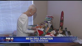 Valley women donate dolls to foster kids