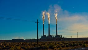 The Navajo Generating Station coal plant in Arizona stops production