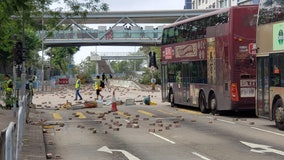 Valley man traveled to Hong Kong to document the unrest