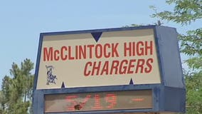 Classes canceled at McClintock High School due to water main break