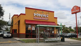Popeyes Chicken Sandwich craze continues with woman scraping car to cut in drive-thru line