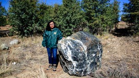 1-ton boulder known as Wizard Rock reappears in Prescott National Forest