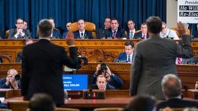'Solemn undertaking': Diplomats testify in historic Trump impeachment hearing