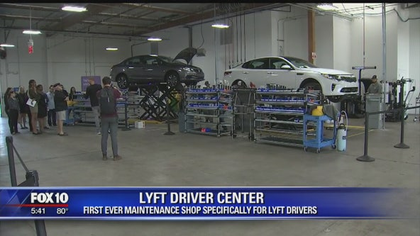 Lyft opens first ever maintenance shop for drivers in Phoenix