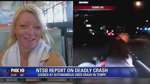 NTSB discusses findings on self-driving Uber crash that killed a Tempe woman in 2018