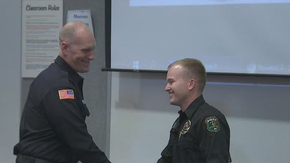 First responders honored for saving lives of those trapped during Glendale apartment fire