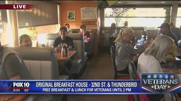 Cory's Corner: Original Breakfast House's Veteran's Day Celebration