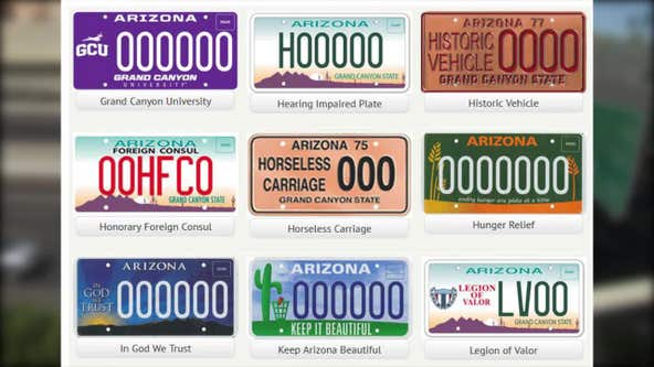 What ADOT officials do when a vanity plate is found to be obscene