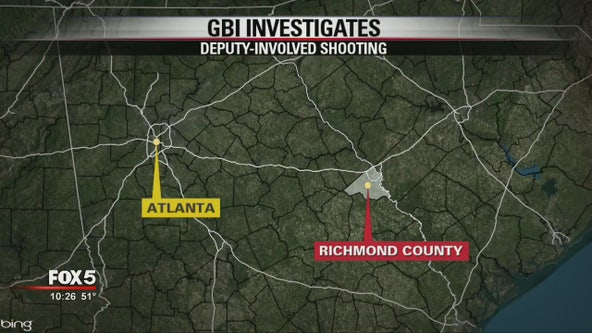 Richmond County Sheriff's Office: Deputy killed, suspect injured in shooting in Augusta