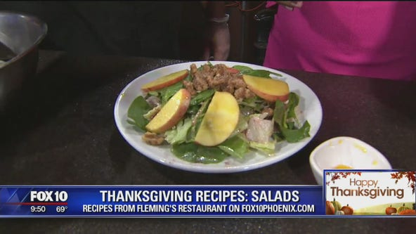 Recipes:  Thanksgiving salads from Fleming's