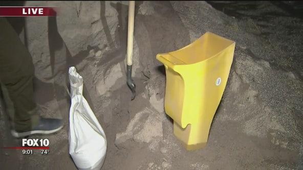 Valley prepares for rain, Daisy Mountain Fire providing sandbags