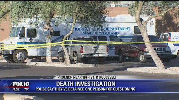 Phoenix Police investigating after body found near 16th St. and Roosevelt